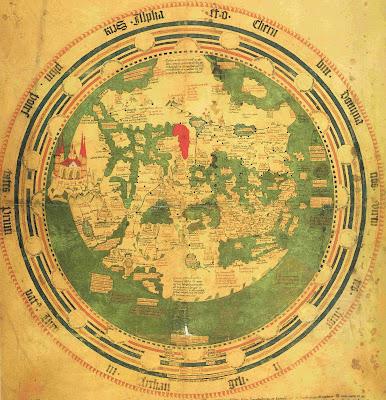 Read more about the article Die berühmte historische Weltkarte von Andreas Walsperger aus dem Jahre 1448