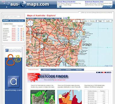 Read more about the article aus-emaps zeigt Topographische Karte von ganz Australien