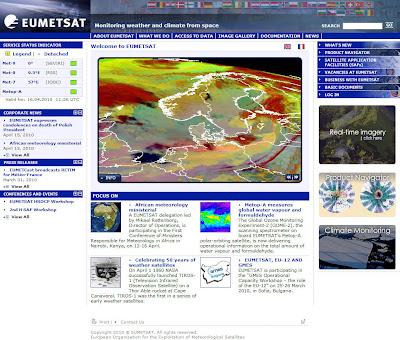 Read more about the article Eumetsat: Toller Satellitenfilm zeigt wie die Aschewolke nach Deutschland kam