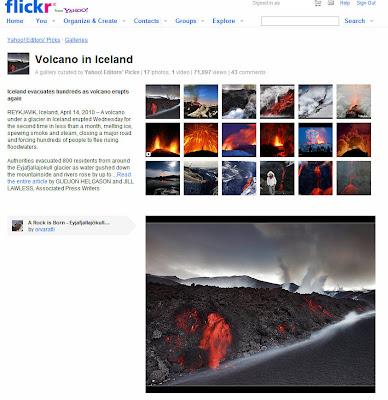 Read more about the article Wunderschöne Fotos vom Vulkanausbruch vom Eyjafjallajökull auf Island (14. April 2010)