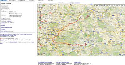 Read more about the article Mit Gmap-Pedometer kann man eine Strecke mit Zwischenstationen kinderleicht abmessen