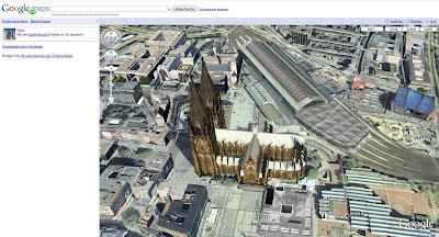 Read more about the article Google Maps integriert Google Earth. 3D jetzt auch über ihren Browser.