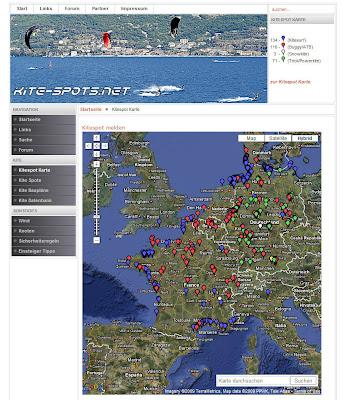 Read more about the article Auf Kite-Spots.net mögliche Kitesurf, Buggy/ATB, Snowkite und Trick/Powerkite Plätze finden