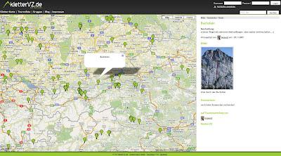 Read more about the article Mit KletterVZ können Sie Kletterrouten und -tipps für das Gelände oder die Halle finden