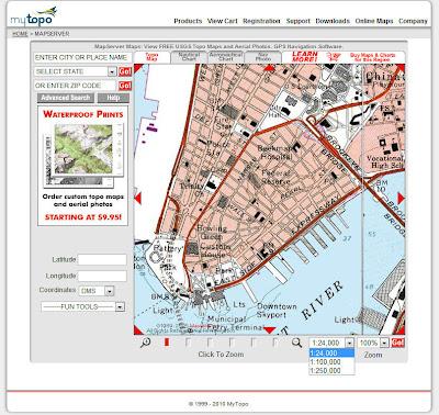 Read more about the article topozone.com mit topographischen Landkarten der USA gibt es nicht mehr