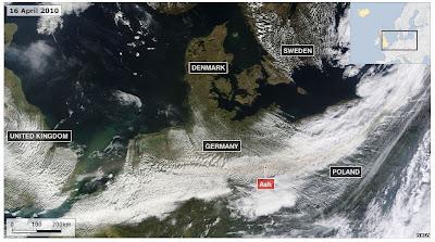 Read more about the article Thema: Aschewolke – Aktuelle Infos und Karten zur Vulkanasche über Europa