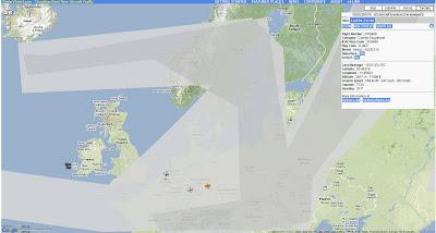 Read more about the article Vulkanasche in Europa: Auf RadarVirtuel sieht man das der Flugraum über Europa wieder freigegeben wird