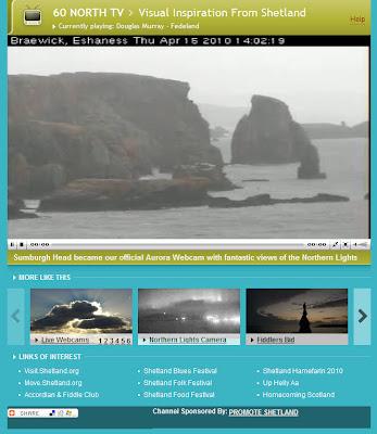 Read more about the article Alles normal: So sieht es LIVE unter der Aschewolke auf den Shettland-Inseln aus