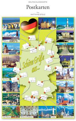 Read more about the article Deutschlandkarte: Schöne Grüße aus … woher eigentlich kommen Postkarten aus Deutschland?
