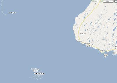 Read more about the article Saint-Pierre and Miquelon sind bei Google Maps untergegangen