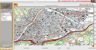 Read more about the article Austrian Map online mit aktuellen topographischen Karten von Österreich