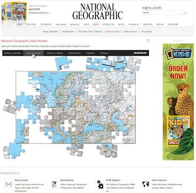 Read more about the article NG Atlas Puzzeles: Eine Runde Landkarten puzzeln gefällig?