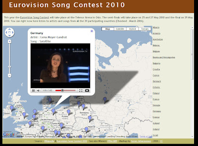 Read more about the article Alle Lieder des Eurovision Song Contests 2010