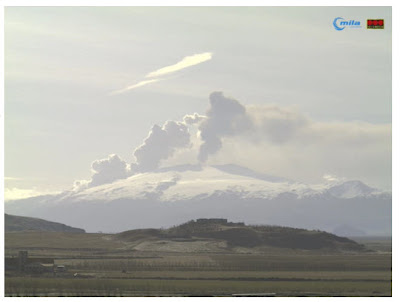 Read more about the article Vulkan Eyjafjallajökull auf Island ist ruhiger geworden