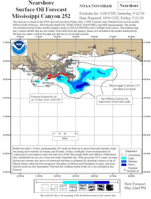 Read more about the article Aktuelle Karte zur Ölkatastrophe im Golf von Mexiko: Das Öl erreicht das Festland und zieht auch in Richtung Florida und Kuba