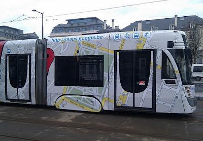 Read more about the article Google Maps fährt in Belgien Straßenbahn