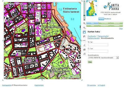 Read more about the article Auf Kansalaisen KarttaPaikka befindet sich eine topographische Landkarte von Finnland