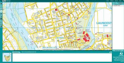Read more about the article LISTmap zeigt Tasmanien im Detail