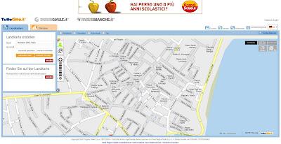 Read more about the article TuttoCitta bietet auch in Deutsch eine interaktive Landkarte und Luftbilder von ganz Italien an