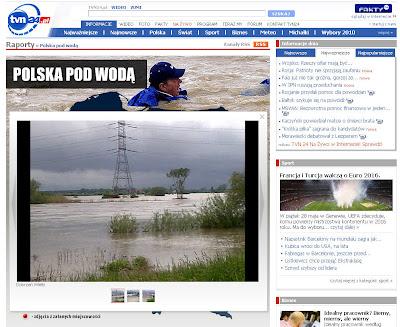 Read more about the article Hochwasser in Polen: Aktuelle Fotos aus ganz Polen zeigen Ausmaß des Hochwassers