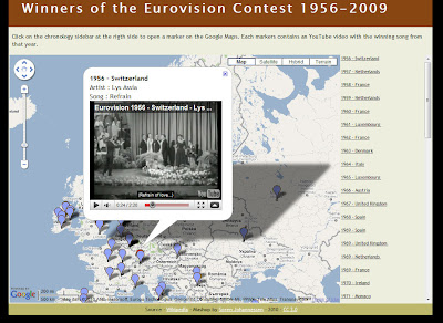 Read more about the article Alle Gewinner des Eurovision Song Contest seit 1956