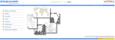 Read more about the article d-maps bietet Cliparts von Ländern und Kontinenten