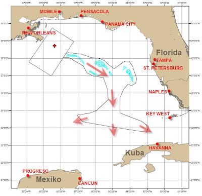 Read more about the article Ölkatastrophe im Golf von Mexiko: Das Öl wird Florida, Kuba erreichen. Mexiko (Yucatan) sicherlich bald auch!