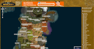 Read more about the article Interaktive Landkarte von World of Warcraft