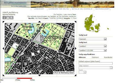 Read more about the article Miljoministeriet Kort & Matrikelstyrelsen mit topographischer Karte von ganz Dänemark