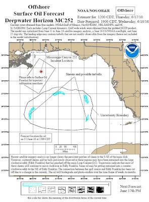 Read more about the article Aktuelle Lagepläne zum Ölteppich im Golf von Mexiko. Das Öl dreht sich im Uhrzeigersinn im Golf von Mexiko!