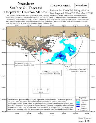 Read more about the article Aktuelle Lagepläne des Ölteppich im Golf von Mexiko