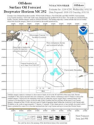 Read more about the article Ölkatastrophe im Golf von Mexiko: Aktuelle Lagepläne zeigen das der Ölteppich Florida und Kuba bedroht