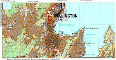 Read more about the article Auf NZTopo vom neuseeländischen LINZ befindet sich eine vollständige topographische Landkarte im Maßstab 1:50.000 von Neuseeland