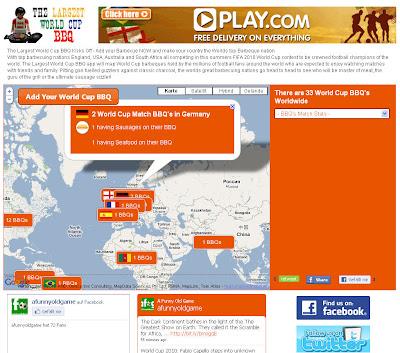 Read more about the article WM 2010 – Die Weltweite Grillkarte zur Weltmeisterschaft