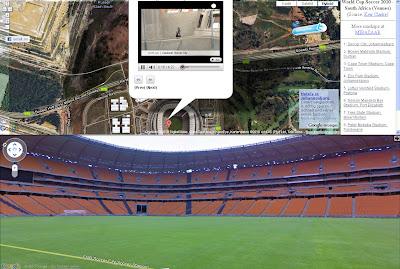 Read more about the article WM 2010 – Alle Stadien und Austragungsorte in Google Maps und Google Streetview