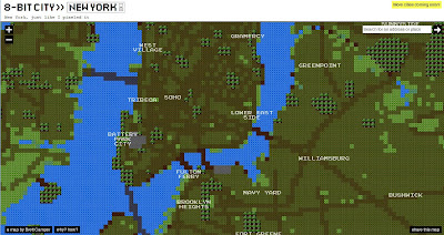 Read more about the article New York, London, Berlin, Paris in 8-Bit Retrolook