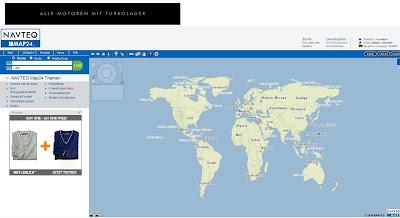 Read more about the article Map24 endlich mit einer gemeinsamen Weltkarte und weltweiten Routenplaner