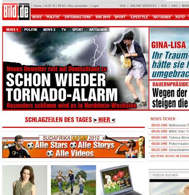 Read more about the article Kommentar: BILD-Zeitung macht unnötig Panik vor neuen Unwetter in NRW