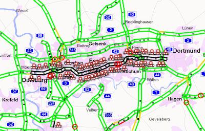 Read more about the article Stillleben A40 – Eine Autobahn ist komplett gesperrt!