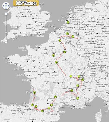 Read more about the article Tour de France 2010 im Live Tracker alle Fahrer auf einer Landkarte verfolgen