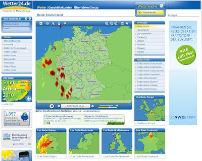 Read more about the article Kräftige Gewitter und Regenfälle über Belgien, Rheinland-Pfalz und dem Schwarzwald enstanden