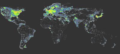 Read more about the article Entdecken Sie den Weltatlas der dunklen Welt im Internet