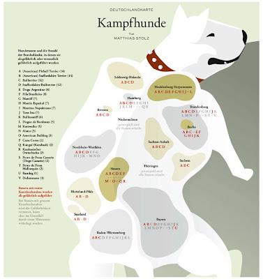 Read more about the article Deutschlandkarte zeigt wo in Deutschland Kampfhunde als harmlos oder gefährlich eingestuft werden