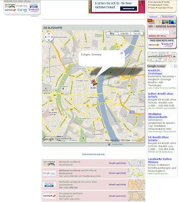 Read more about the article Die Blitzkarte – Eine bessere Suche ab sofort im Landkarten & Stadtplan Index