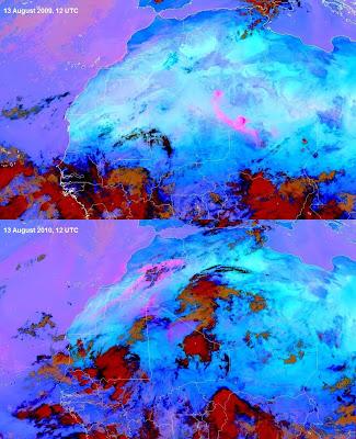Read more about the article Wetterphänomene nehmen zu! In der Sahara hat es kräftig geregnet!