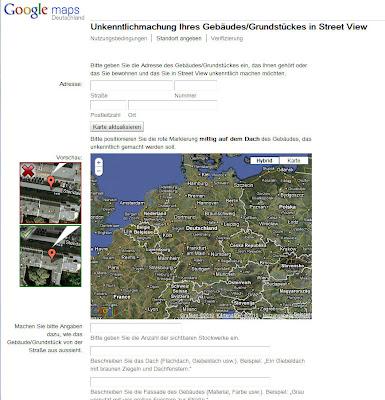 Read more about the article Google Streetview – So entfernen Sie ihr Gebäude oder Wohnung in Google Streetview