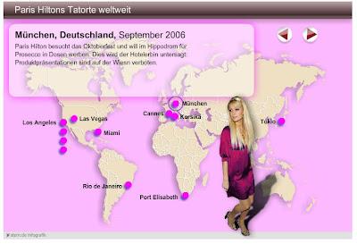 Read more about the article Der Stern zeigt die Anti-Paris-Hilton-Weltkarte