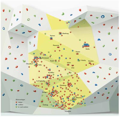 Read more about the article Der Berg ruft! Eine Deutschlandkarte zeigt wo man in Deutschland Kletterwände besteigen kann.
