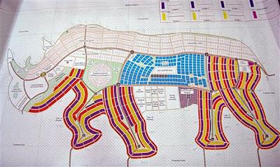 Read more about the article Kuriose Tierstädte im Sudan geplant! Im Südsudan plant man die Stadt Rhinopolis und Giraffia