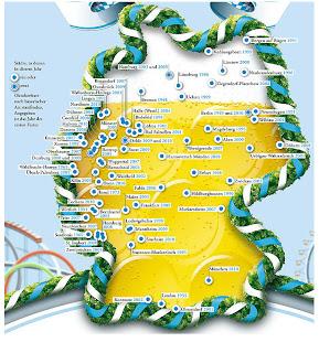 Read more about the article Oktoberfeste in Deutschland. Eine Deutschlandkarte zeigt alle Oktoberfeste. Tradition aus Bayern die in West- und Ostdeutschland viele Kopien gefunden hat!